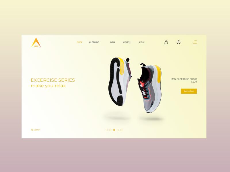Apex Shoping web