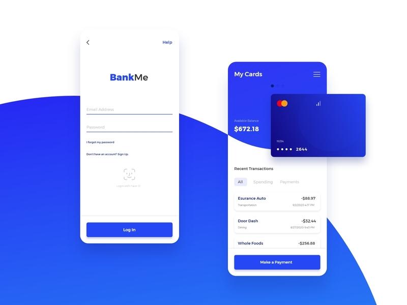 Screen Per Day—001 banking app bank app banking bank mobile web ui design uiux app ui