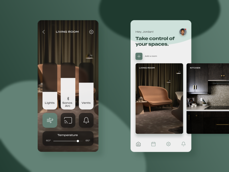 Screen Per Day—003 visual design ui design ui mobile app smart home app smart home smarthome