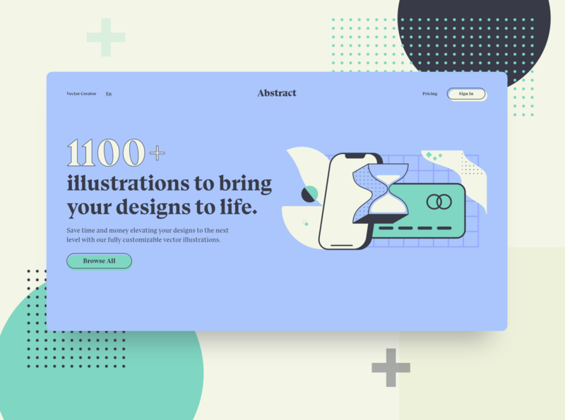 Screen Per Day—009 uiux web design desktop visual design abstract illustration ui design ui