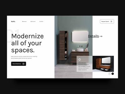 Screen Per Day—020 modernism modern minimalism minimal interior design furniture web web design desktop visual design ui design ui
