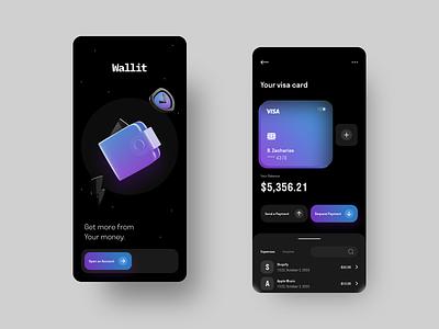 Screen Per Day—022 3dillustration illustration 3d tech finance mobile wallet app walletapp wallet ui wallet bank app banking app visual design ui design ui