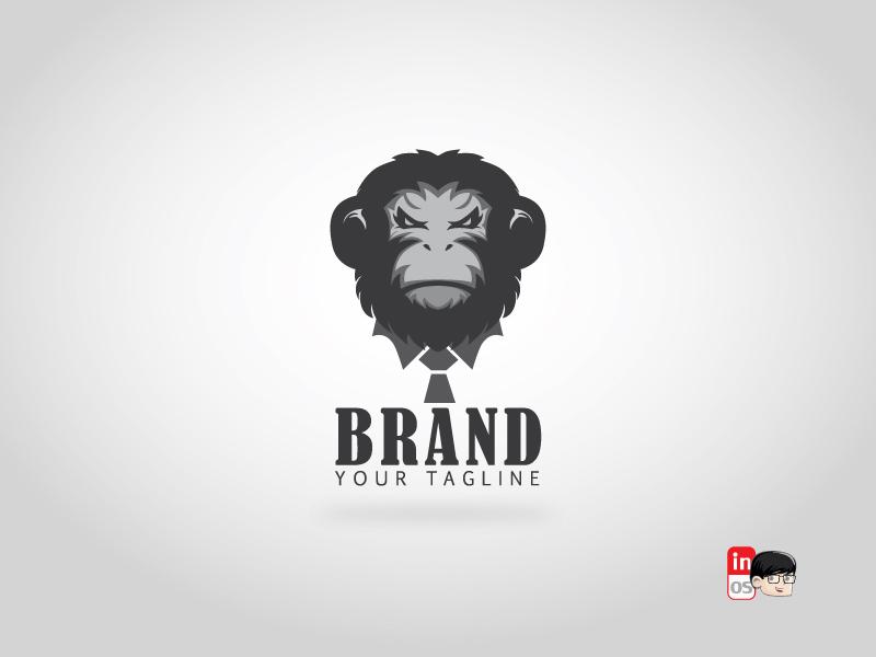gorilla boss logo logo for sale head logo gorilla animal mascot vector icon esportlogo esport brand logos idea logos logo 2d logo illustration designer design branding adobeillustrator
