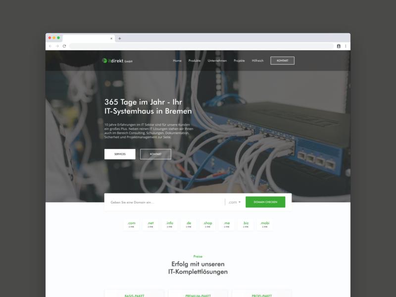 Minimal Website Design modern ui  ux web minimal ux ui design