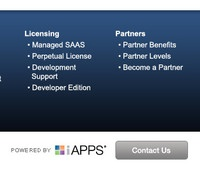 iAPPS footer