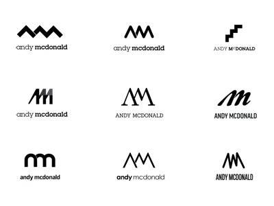 Logo Ideas 2 By Andy Mcdonald On Dribbble