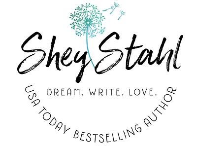 Shey Stahl watercolor typography illustration logo design branding