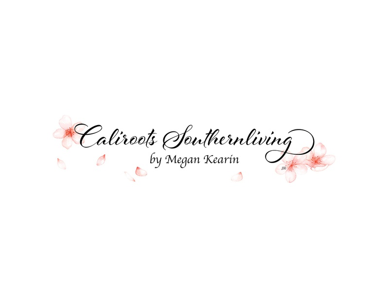 Caliroots Southern Living illustration typography logo design branding