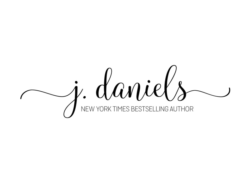 J Daniels typography logo design branding