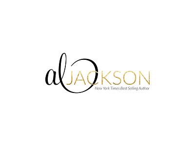 Al Jackson metallic illustration typography logo design branding