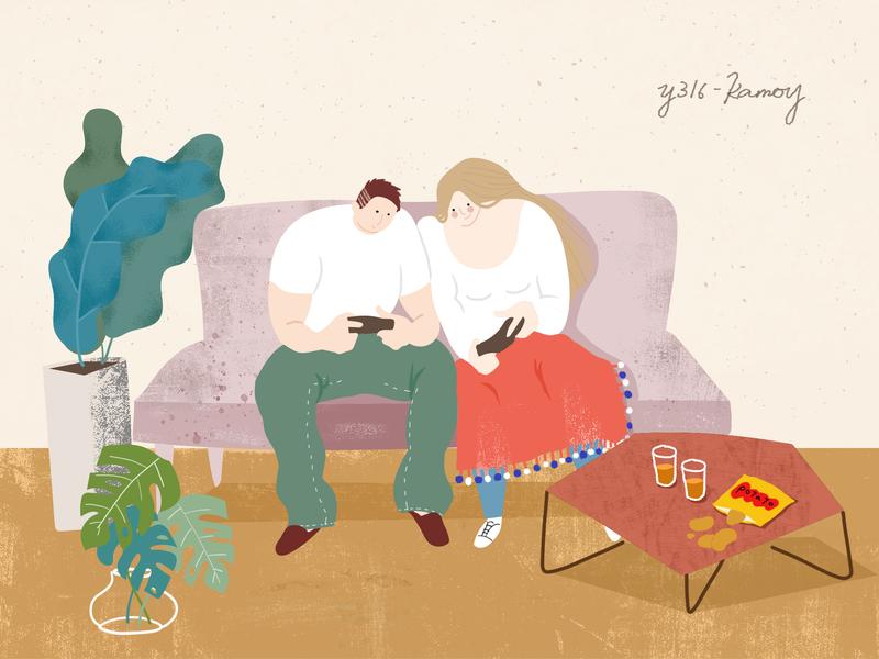 Play games illustrate illustration