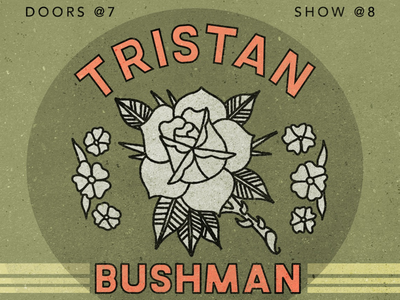 Tristan show poster