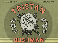 Tristan show poster
