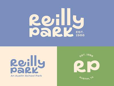 Park branding and logo, custom typography custom type typography logo branding