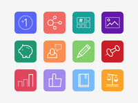Offerpop Product Icons