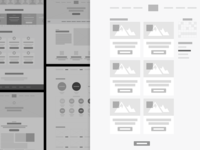 Wireframe Styling Exploration