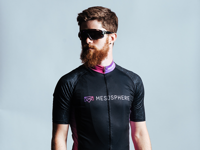 Mesosphere Cycling Kit bro beard bibs jersey kit bike cycling