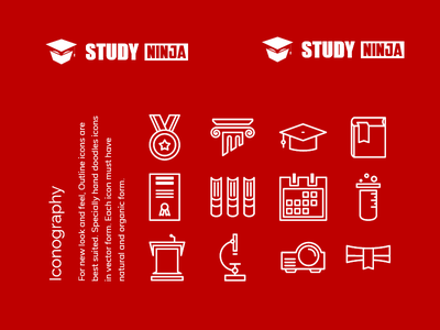 Study Ninja Branding education logo logo animation logo reveal animation mockup icons typography brand identity brand guidelines print design illustration logo branding