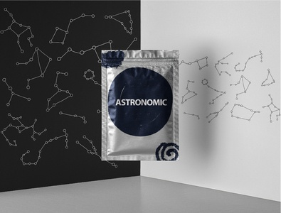 Stars constellation packaging design package astronomic celestial universe cosmic constelletions stars packaging design