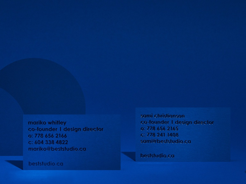 Best Personal Business Cards wordmark stationery design logo stationery font graphic design foil stamping design blue foil stamp businesscard business card branding