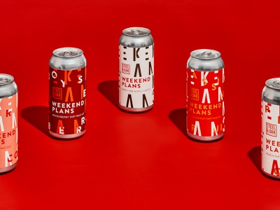 Steel & Oak Weekend Plans Series graphicdesigner graphicdesign patterns beer packagingdesign packaging design packagingpro packaging typography illustration beer packaging beer label beer can beer branding design graphic design branding
