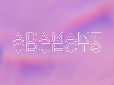 Adamant Objects Wordmark