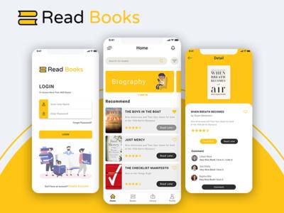 E-book  Book Reading App