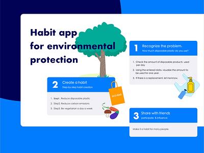 Habit app disposable reduce zerowaste habbit app