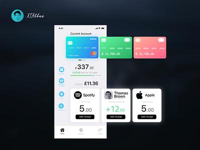 Shot 1 app flat ui design