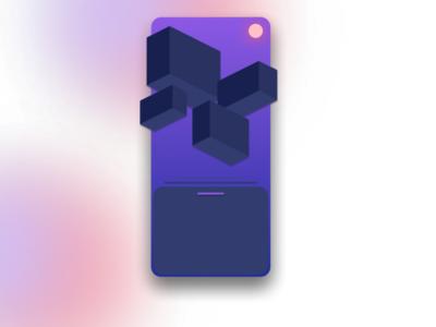 Shot #02 3d art flat design app