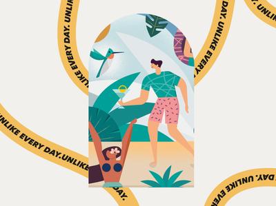 craftrick holidays vector illustrator graphics design summer illustration art photoshop inspiration resources design resources illustration