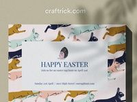 Easter Craftrick Invitation