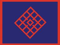 Blue & Red Logo