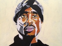 Tupac Color Work