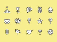 Happy Time Icons
