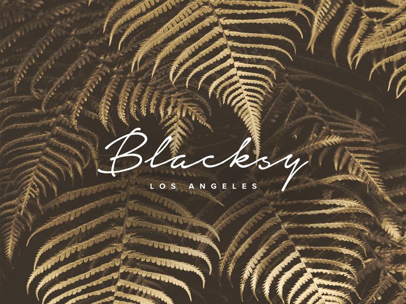 Blacksy unsplash gold