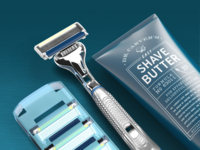 Executive Razor + Shave Butter