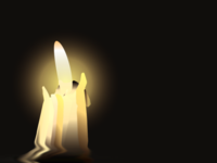 A lonely Candle