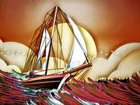 Ship Journey - Illustration (Full)