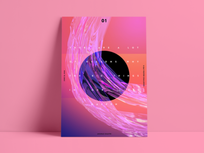 /tm/ - Baugasm Style Poster #1 poster a day abstract portfolio minimal poster vector poster art posters poster design designs typography design baugasm composition album art art