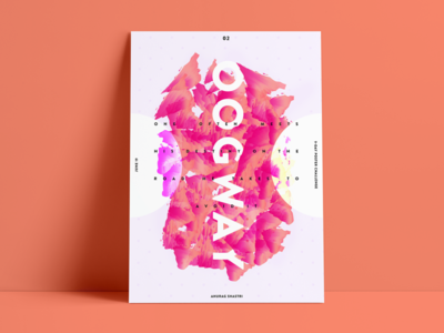 /oogway/ - Baugasm Style Poster #2 graphic design portfolio baugasm designs posters illustraion abstract poster a day album art poster minimal art vector poster design poster art composition design