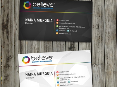 Believe Brand Identity
