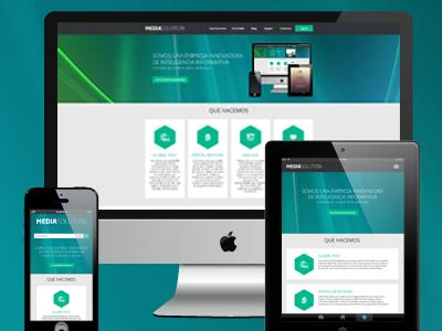 Media Solution - Website
