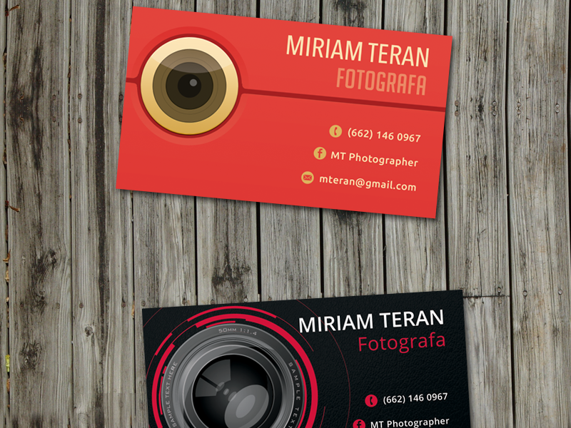 Mt Business Card Mounted business card
