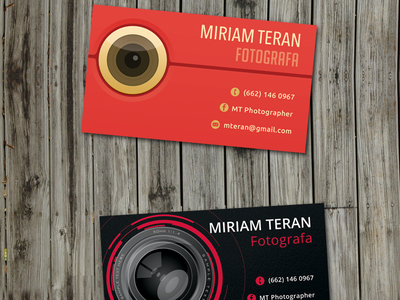 Mt Business Card Mounted