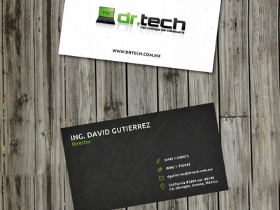 Drtech Business Cards Montadas