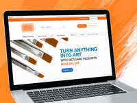 Upcoming eCommerce Store for Art Supplies