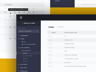 Data Dashboard Design canada toronto console dashboard data custom platform application web app uiux website web design