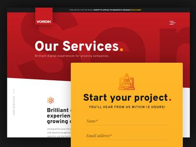 Vordik Website - Our Services