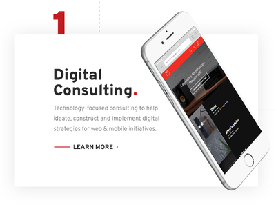 Digital Consulting CTA on Vordik.com vordik toronto agency interactive consulting service uiux website web design